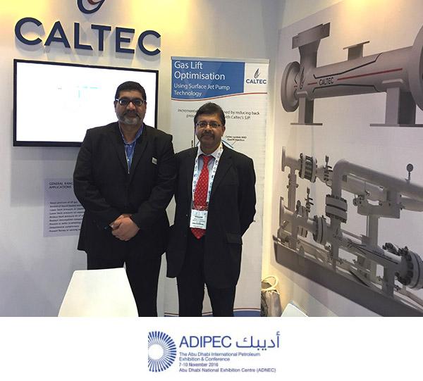 Caltec at ADIPEC 2016