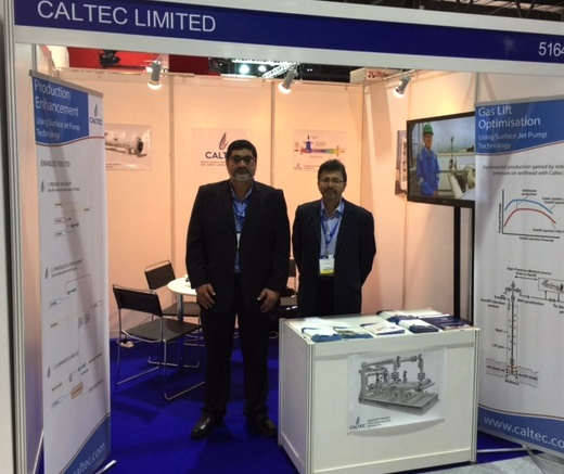 Caltec at the 2016 ATCE in Dubai