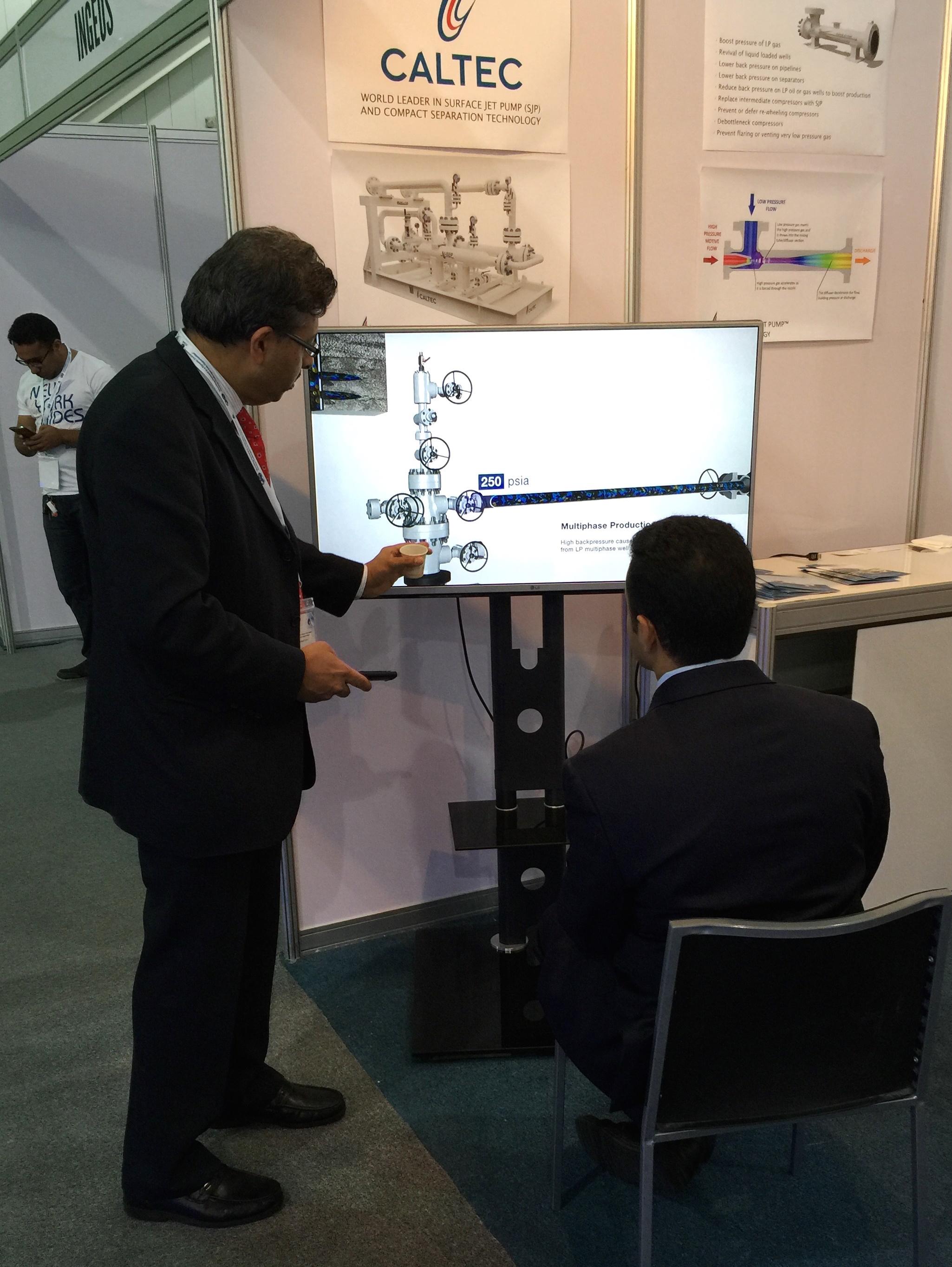 Caltec's Exhibiting and Presenting at SPE KSA Annual Technical Symposium & Exhibition