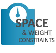 Space and Weight Constraints