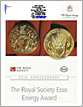 The Royal Society Energy Award