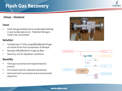 Flash Gas Recovery
