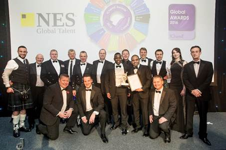 Caltec Collaboration Wins Global Team of the Year Award