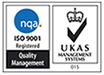 NQA ISO 9001 Registered