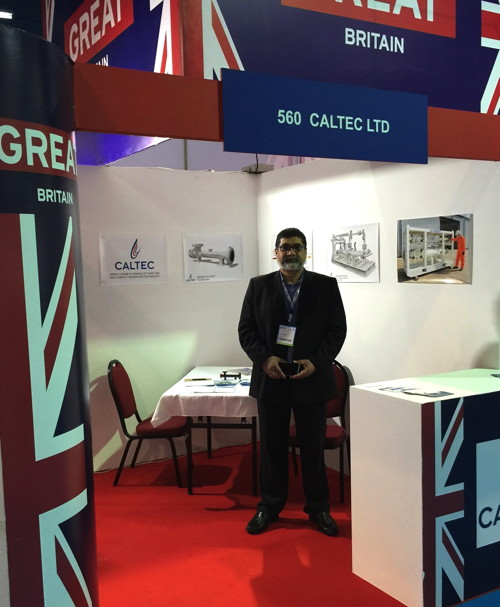 Caltec at the Oman Energy and Water Exhibition Conference 2016