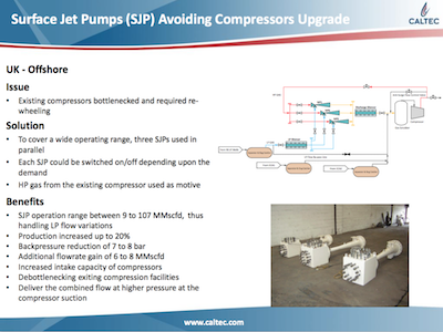 SJPs Avoiding Compressors Upgrade