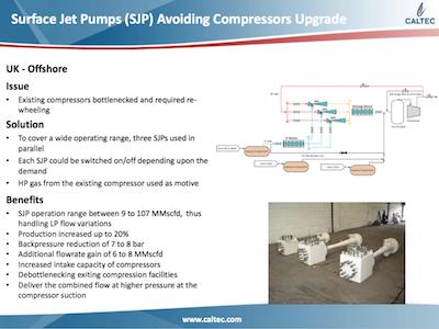 SJPs Avoiding Compressors Upgrade