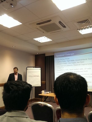 Caltec's Syed Peeran Gives Presentation To MK IChemE
