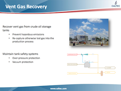 Vent Gas Recovery